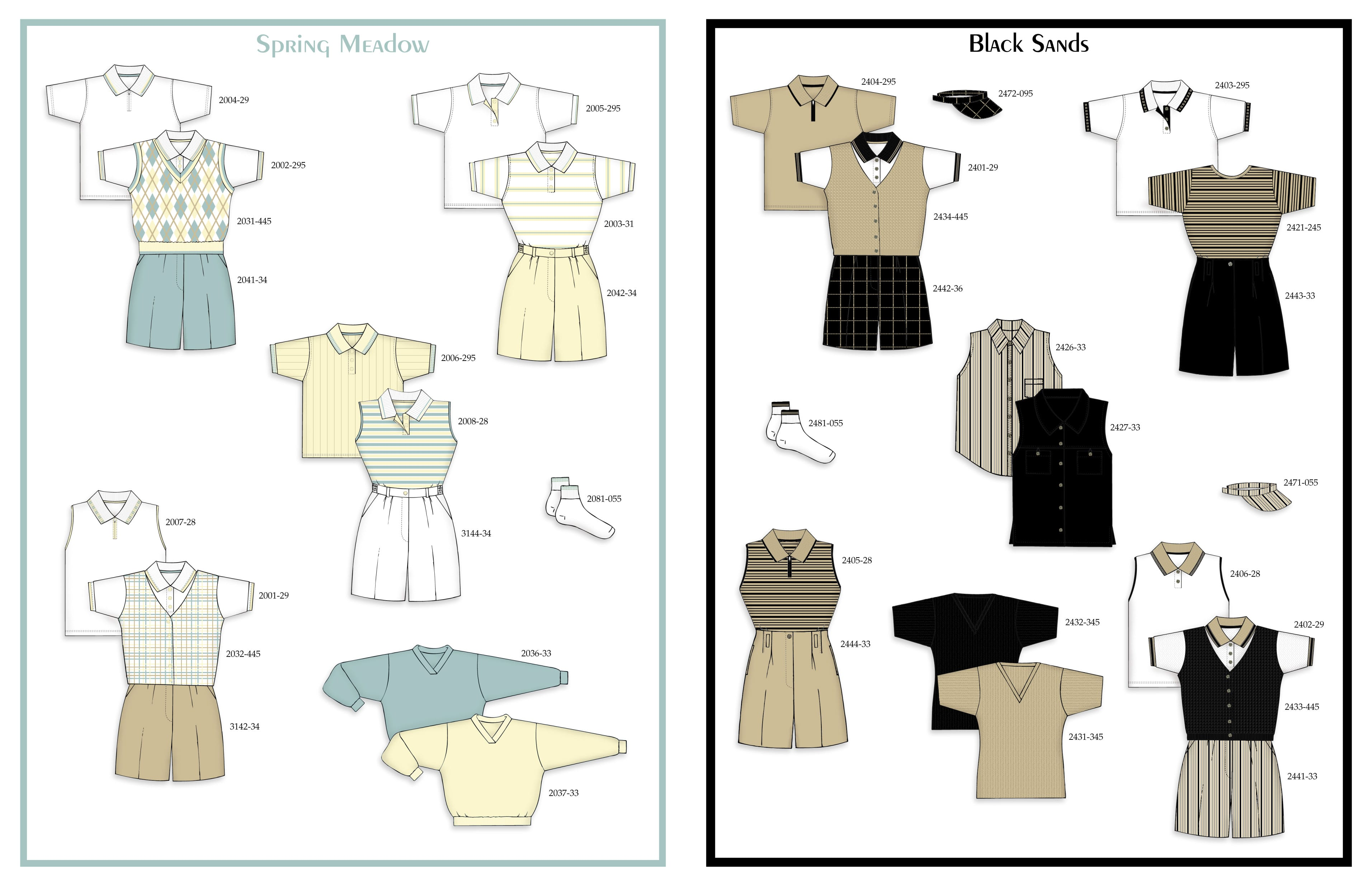 Catalog Design & Production – Eastbrook Clothing
