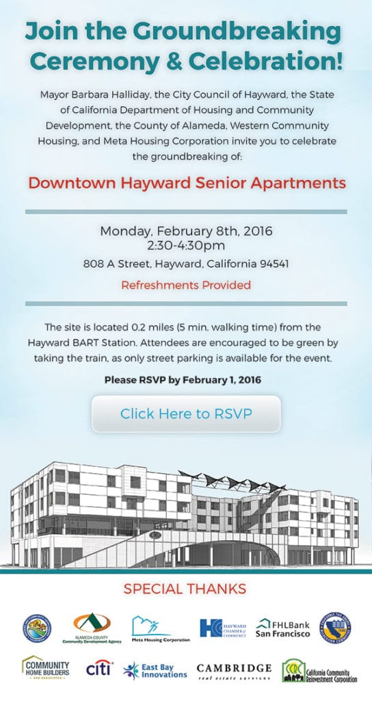 Email Marketing for Brower, Miller & Cole – Hayward Senior Apartments