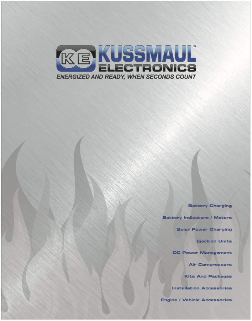 Catalog Design & Production – Kussmaul Electronics