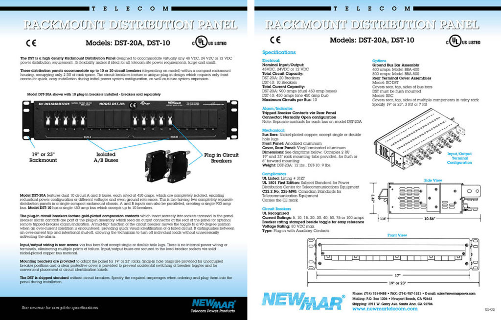 Brochure Design & Production – Newmar
