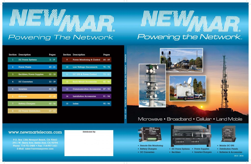 Catalog Design & Production – Newmar