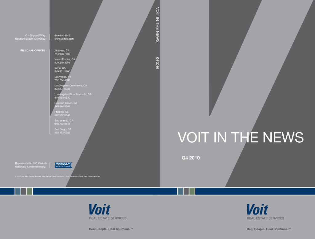 Brochure Design & Production for Brower, Miller & Cole – Voit