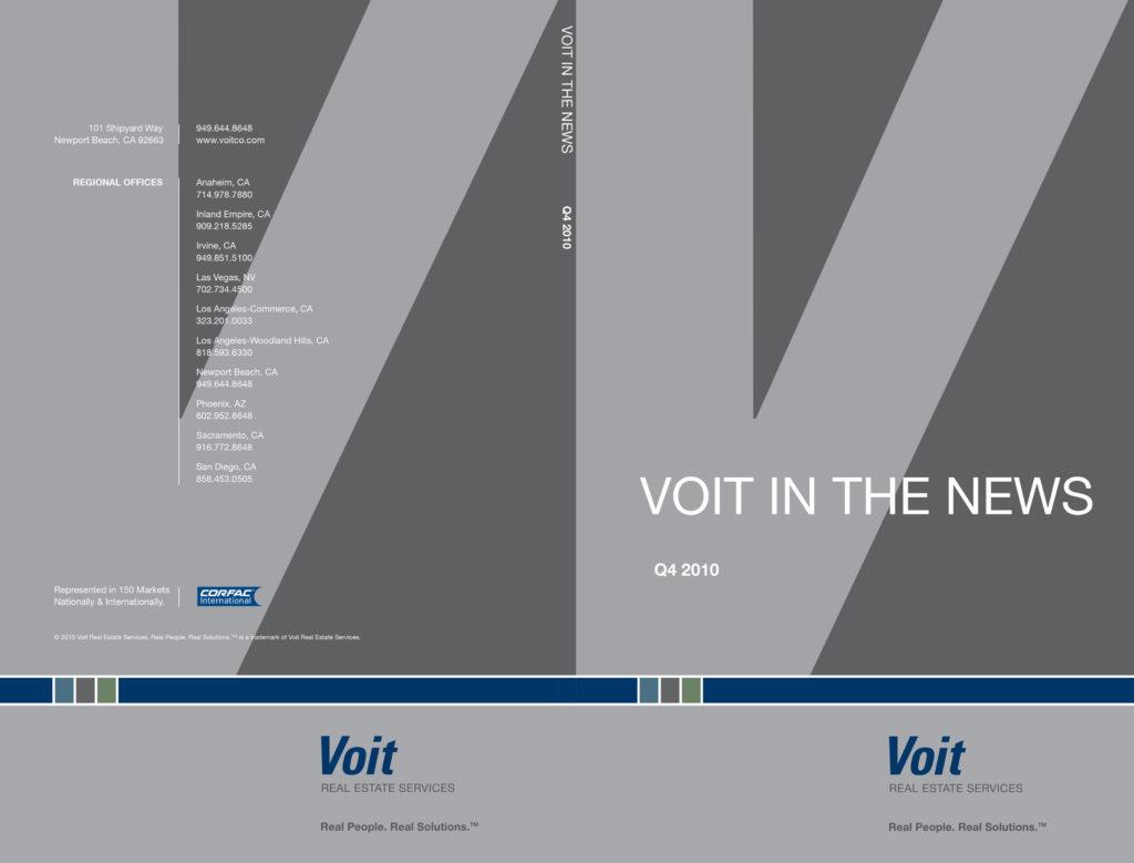 Brochure Design & Production for Brower, Miller & Cole – Voit