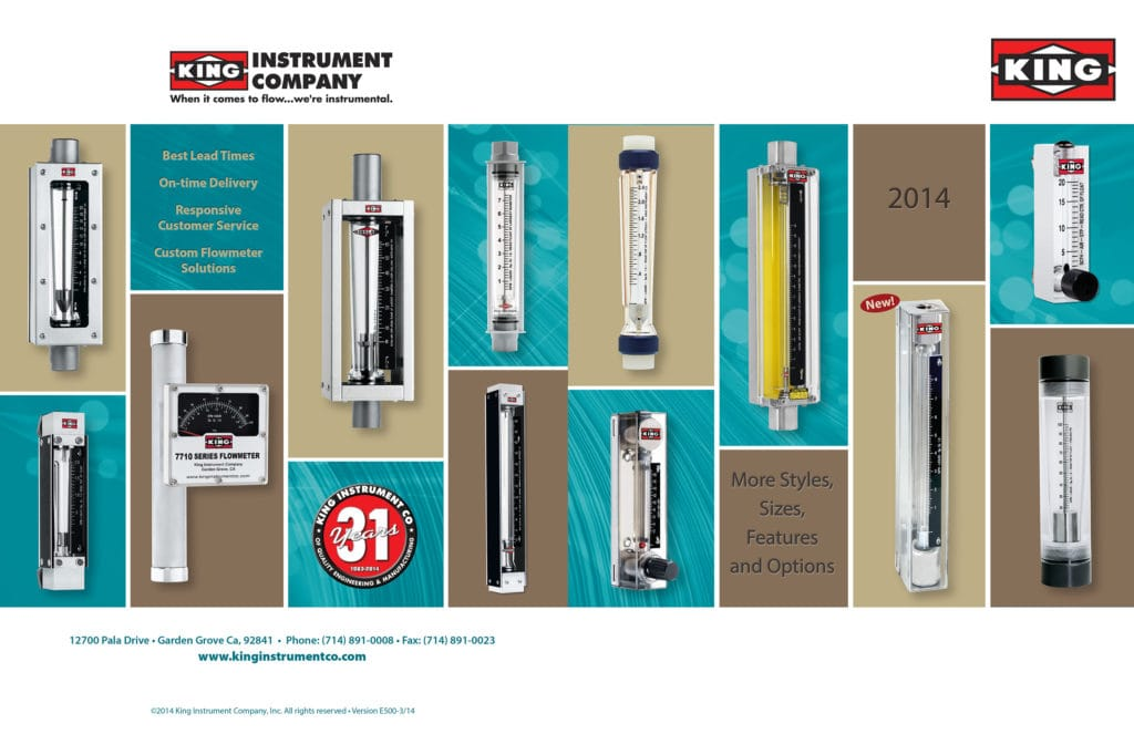 Catalog Design & Production – King Instrument Company