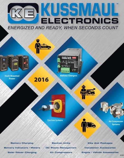Catalog Design & Production – Kussmaul Electronics